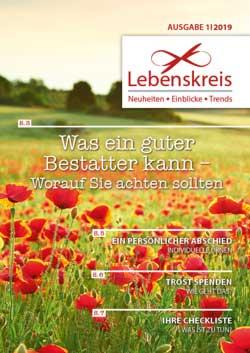 Bestattungshaus Kämmerling | Magazin Lebenskreis | Ausgabe 2019